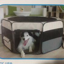 Casa Corral Portatil Para Mascotas 116 X 116 X 49