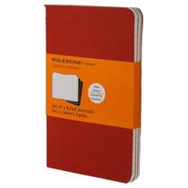 Libreta Roja Bolsillo Rayas Moleskine Cuaderno