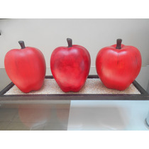 Jgo De Manzanas De Ceramica
