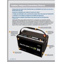 Bateria Solar Plomo Puro Alphacell 4.0 Hp 103.hp