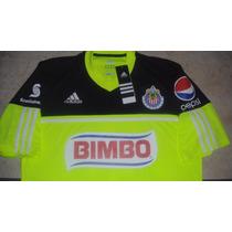 Jersey Adidas Chivas Rayadas De Guadalajara De Portero 2014