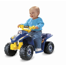 Fisher Price Power Wheels Cuatrimoto Electrica Para Niños 6v