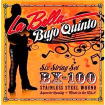 Encordado La Bella Para Bajo Quinto 10 Cuerdas Bx100