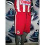 Remate Short Inédito Rojo Chivas Adidas Original 2013-2014