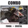 Case Funda Aluminio Tipo Espejo Más Cristal Lg G4 Stylus