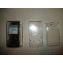 Wwow 2 Crystal Case Sony Ericsson W980 Excelentes!!!