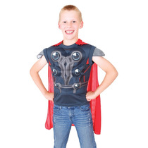 Thor Traje - Eva Dress Up Small Kids Superhero Dios Fantasía