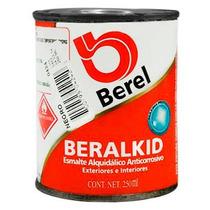 Pintura Esmalte Beralkid Negro (1/4 Lt.) Berel