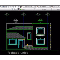 Plano De Casa Colonial Con Cupula Arquitectonico Y Estructur