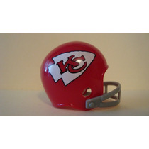 Super Bowl # 04 Nfl Kansas City Chiefs Casco Y Tarjetas