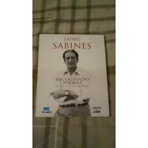 Libro Recogiendo Poemas, Jaime Sabines.