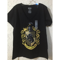 Playera Hufflepuff Original Harry Potter