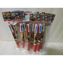 Avengers Bolígrafos Fiestas 10 Recuerdos Aguinaldos 5 Colore