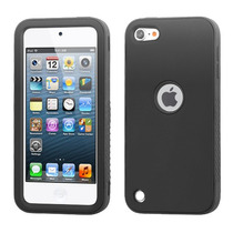 Funda Protector Mixto Apple Ipod Touch 5g Negro / Antiderrap