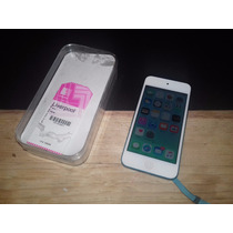 Ipod Touch 5g Azul 32gb Con Caja Y Cable