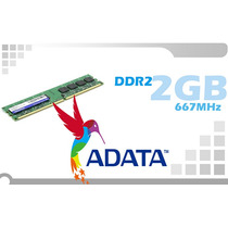 Memoria Ram Ddr2 2gb 667 Pc Adata