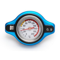 D1 Spec Tapon Chico De Radiador Con Medidor De Temperatura