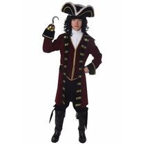 Disfraz De Pirata Capitan Garfio Hook Para Adolescentes