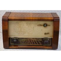 Radio Antiguo Alemán Graetz De Los 50´s De 4 Bandas