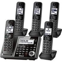 Telefono Inalambrico Panasonic Tg585sk Bluetooth 5 Handsets