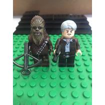 Star Wars Chubaca Y Han Solo Force Awakens Compatible Lego