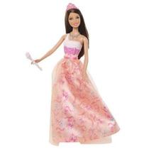 Barbie Princesa Teresa Naranja Vestido De La Muñeca - Versi