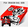 Skin Dragon Ball Z Ps4 Goku Rojo Barlights