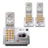 Telefonos Inalambricos At&t El52333 Contestadora 3 Handsets