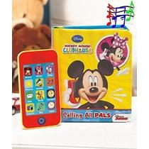 Disney Mickey Mouse Clubhouse Libro & Teléfono Establecer Ge