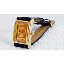 Reloj Jules Jurgensen Con Diamante Y Oro Fino 999.9 Nuevo