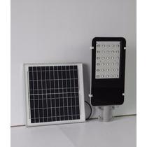 Lampara Solar De Alumbrado Publico 15w Todo Incluido 30 Leds