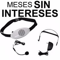 Vecctronica: Megano Portatil Con Microfono Diadema O Solapa!
