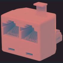 Saxxon Adaptelpak - Paquete De 10 Piezas De Adaptador Telefo