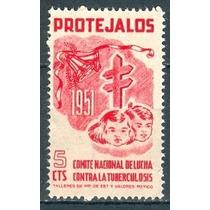 Sc () Año 1951 Tuberculosis Cnlt Campaña De Navidad