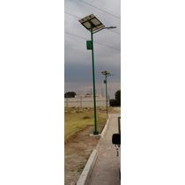 Lampara Solar Para Alumbrado Publico Led 30w-60w-80w-120w