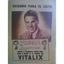 Anuncio De Vitalix Loción Capilar 1940 En Papel,