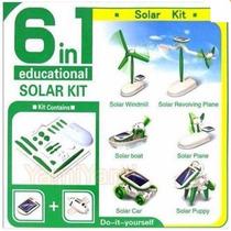 Juguete Educativo Armable Con Celda Solar 6 Modelos En Uno