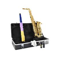 Saxofon Alto Mi Bemol Laqueado Blessing Con Estuche Y Acc