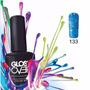 Esmalte Gel Uñas Tipo Gelish Gloss Over Color Blue Drops