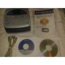 Impresora De Discos Casio Cw-75 Cd/dvd Termica