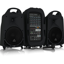 Behringer Europort Ppa2000bt Sistema De Audio Portátil