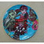 Fiesta Monster High Plato Melamina Como Recuerdo