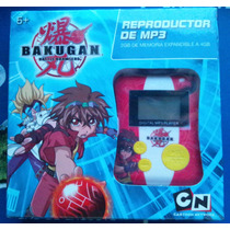 Reproductor Mp3 Bakugan Cartoon Network
