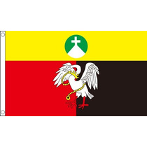Bandera - Buckinghamshire Antiguo 150cmx 90cm (5ftx 3ft) Con