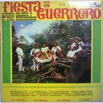 Alfonso Salgado Fiesta En Guerrero Lp Folklore Regional