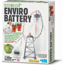 4m Kit Crear Bateria Enviro Battery Set Didactico Cientifico