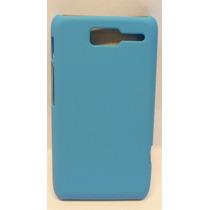 Funda Protector Motorola D1 Xt914 Azul Cielo