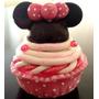 Recuerdito Alhajero Mimi Mickey Mouse Pasta Cupcake