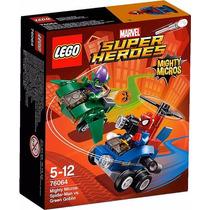 Lego Heroes 76064 Mighty Micros Spíderman Vs Duende Verde