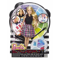 Muñeca Barbie Mix Y Color A Cabello De Barbie Blakhelmet Sp